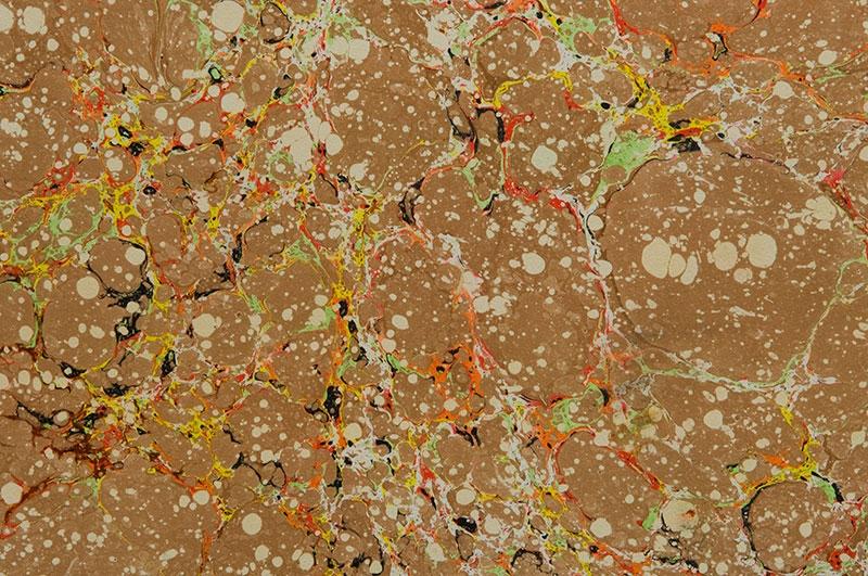 flourescent-vein-on-brown